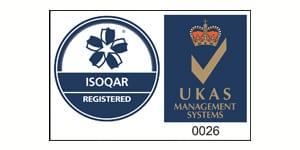 ISOQAR registered logo - cyb environmental - japanese knotweed removal london cardiff bristol